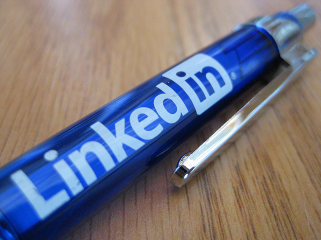 Linkedin pen by Sheila Scarborough of Flickr