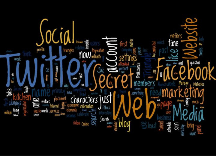 "Photo courtesy of Mark Kens on flickr open source. ""Social Media Cloud by Techndu""(http://bit.ly/1BQicff)."