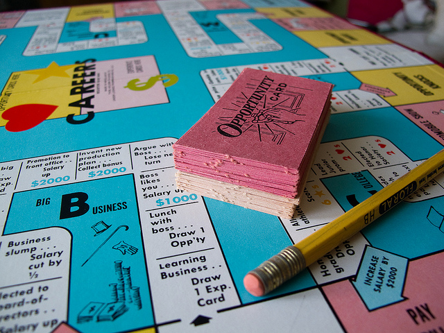 Careers Board Game by Huppypie of Flickr