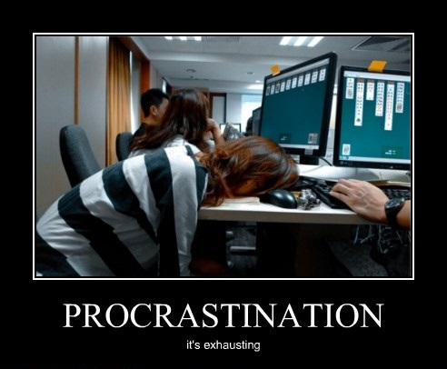 Procrastination by Ffaalumni of Flickr