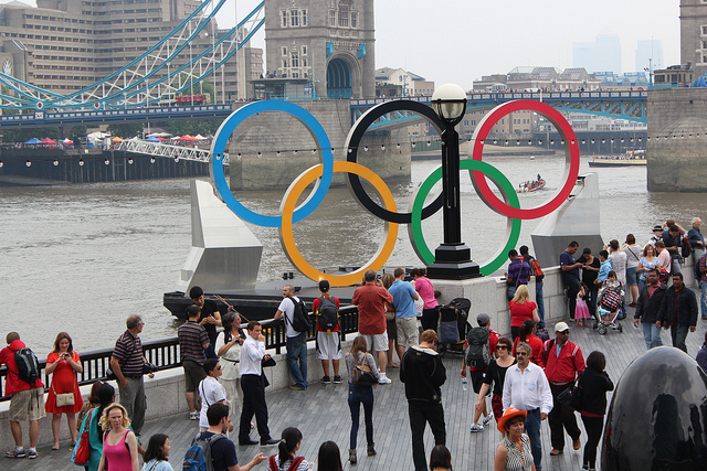 Olympics by Peter Burgess of Flickr