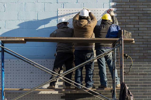 Construction Workers by Adam Cohn of Flickr