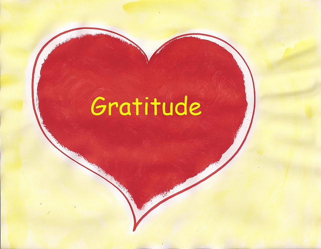Gratitude by Sheila Craan of flickr