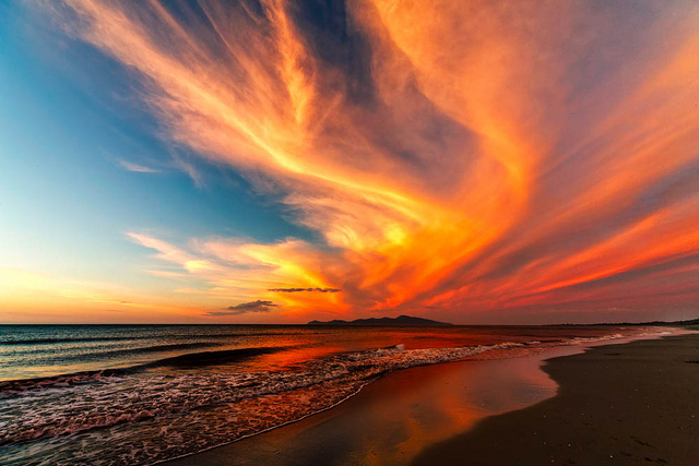 Swirling Sky - Happy New Year Everyone by Steward Biard of Flickr