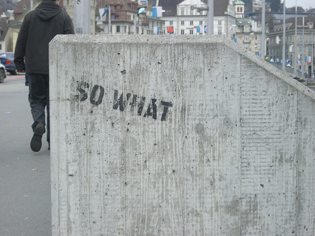 So What by Paolo Mazzoleni on Flickr