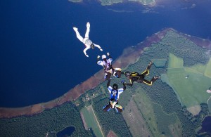 Rayskaia skydive by  Alexander Savin on Flickr