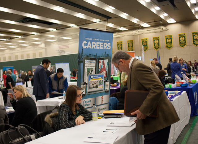 """College of DuPage Hosts Career Fair 2015 23"" by COD Newsroom from Flickr"