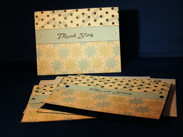 Thank You Notes Greeting Card Set - LilyWhitesParty of Flickr