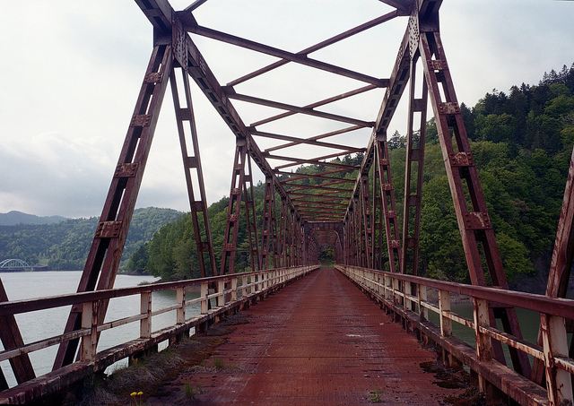 Rusty Bridge by ThreePinner of Flickr