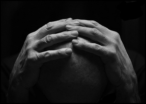 Hands and Head by Timothy Actwell of Flickr