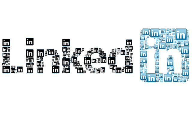 LinkedIn Logo by Esther Vargas of Flickr