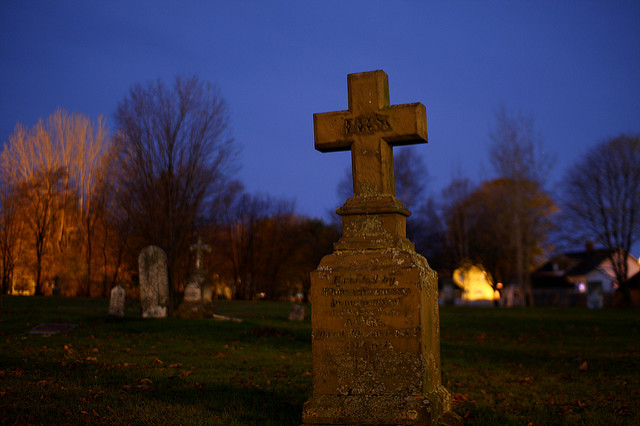 Tombstone by Martin Cathrae of Flickr
