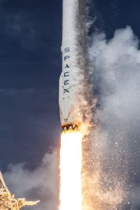 SpaceX Discovery Fire